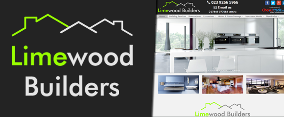 Thumbnail of the Limewood Builders website