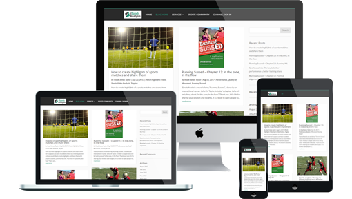 iMediaLibrary on desktop, laptop, tablet and mobile